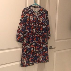 J. Crew long sleeve dress. Size medium.